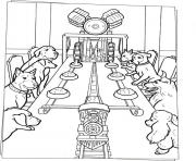 dogs dinner on the table f721