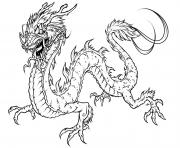 Printable Free Printable Dragon coloring pages