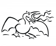 Print angry dragons coloring pages
