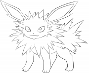 EEVEE Coloring Pages Color Online Free Printable