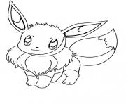 eevee 2 coloring pages