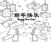 chinese new year s happy celebrating081a coloring pages