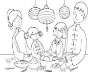 feast chinese new year s6fbd coloring pages