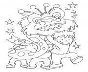Print dragon chinese new year s1553 coloring pages