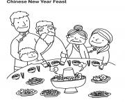 Print chinese new year s feaste1da coloring pages