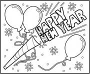 Happy New Year To Download coloring pages
