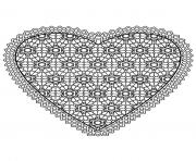 free mandala difficult adult to print heart coloring pages