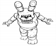 Print fnaf freddy five nights at freddys free to print coloring pages