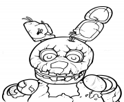 Printable freddy five nights at freddys printable coloring pages