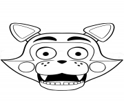 Nightmare Bonnie Fnaf Coloring Pages Printable