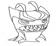slugterra grimmstoner coloring pages