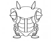slugterra roboslug coloring pages