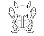 Slugterra Slugs Transformation Coloring Pages