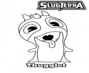 slugterra thugglet coloring pages