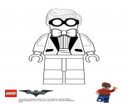 Printable Dick Grayson Lego Batman Movie coloring pages