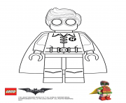 Printable Robin Lego Batman Movie coloring pages