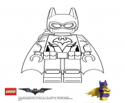 Printable Batgirl Lego Batman Movie coloring pages