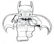 Printable batman lego is running movie coloring pages