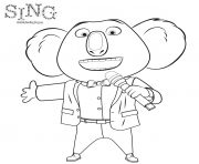 Sing 2016 Movie Coloring coloring pages