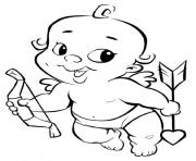 Baby Cupid Valentines day