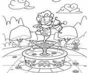 Printable cupid free valentine 75c5 coloring pages