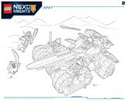 Print Lego NEXO KNIGHTS products 4 coloring pages