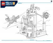 Printable Lego Nexo Knights file page6 coloring pages