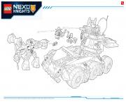 Print Lego NEXO KNIGHTS products 2 coloring pages