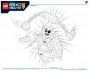 Print Lego Nexo Knights MONSTRES ULTIMATE 1 coloring pages
