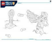 Print Lego Nexo Knights file page4 coloring pages