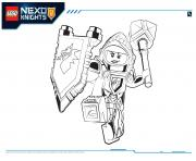 Print Lego Nexo Knights Macy 1 coloring pages