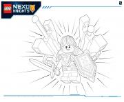 Print Lego Nexo Knights Ultimate Knights 4 coloring pages