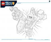 Print Lego Nexo Knights Ultimate Knights 1 coloring pages