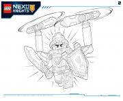 Print Lego Nexo Knights Ultimate Knights 2 coloring pages