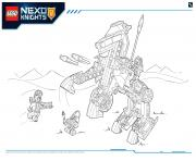 Print Lego NEXO KNIGHTS products 6 coloring pages