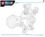 Print Lego NEXO KNIGHTS products 3 coloring pages