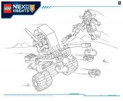 Print Lego Nexo Knights file page2 coloring pages