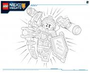 Print Lego Nexo Knights Ultimate Knights 3 coloring pages