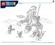 Print Lego Nexo Knights file page3 coloring pages