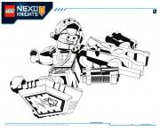 Print Lego Nexo Knights Aaron 1 coloring pages