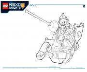 Printable Lego Nexo Knights Lance 1 coloring pages