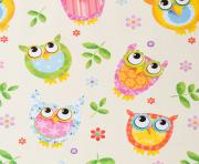 childrens owl printable wrapping paper coloring pages