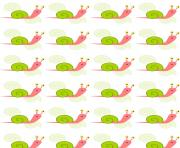 snail printable wrapping paper color coloring pages