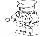lego policeman coloring pages