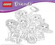 lego friends bike