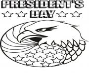 Print presidents day united states usa coloring pages