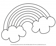 Printable Pot Of Gold coloring pages