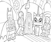 Printable lego batman movie having fun coloring pages