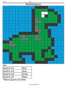 Math Pixel Art Coloring Pages Free Printable
