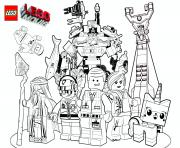 Print lego 3 marvel the movie 2017 coloring pages